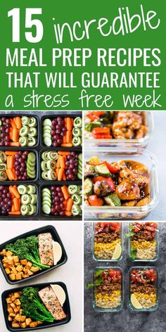 have just started meal prepping. This article is getting pinned IMMEDIATELY for all my future use for meal prep recipes for breakfast, lunch, and dinner. An absolute goldmine for awesome healthy meal prep recipes. Best Meal Prep, Meal Prep Plans, Lunch Meal Prep, Healthy Meal Prep, Easy Healthy Recipes, Lunch Recipes, Healthy Snacks, Breakfast Recipes, Eat Healthy
