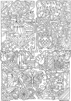 Dover Publications Creative Haven Insanely Intricate