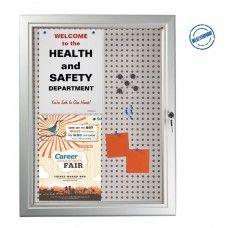 Panou magnetic cu plută și ușă School Fair, Health And Safety, Locker Storage
