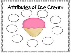 attributes of ice cream