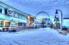 Snow Storm 2014....Myrtle Beach Boardwalk  https://scontent-a-iad.xx.fbcdn.net/hphotos-prn2/t1/1743461_10152156761422716_1138988532_n.jpg