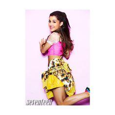 Ariana Grande sulla copertina della rivista Seventeen e l'intervista -... ❤ liked on Polyvore featuring ariana and ariana grande