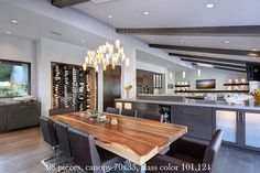 Farmhouse chandelier for kitchen island or dining room lighting or, this modern light fixture, is elegant yet cozy Farmhouse Chandelier, Farmhouse Lighting, Modern Chandelier, Chandelier Lighting, Glass Chandelier, Dining Chandelier, Dining Table Lighting, Kitchen Island Lighting, Dining Tables