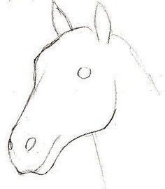 Hier erkennen Sie selber, wie kann man ein Pferd realistisch zeichnen. Schritt für Schritt zeichnen wir es hier zusammen. Schauen Sie mal an!