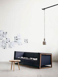 Es tendencia en decoración: muebles geométricos #tendencias #decoracion #sofas