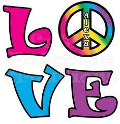 Peace Love Bat Mitzvah Logo , Tie Dye Peace Sign Bat Mitzvah Logo , Peace Love Bas Mitzvah Logo   www.cutiepatootiecreations.com