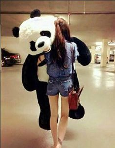 Christmas/Birthday gift Giant Huge Big 170cm Panda/bear Stuffed Plush Animal Toy