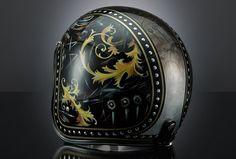 "original VERSACE ""BAROCCO"" helmet by UNEXPECTED CUSTOM www.unexpected-custom.com"