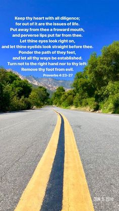 Bible Verses Kjv, Paths, Country Roads, Let It Be, Life