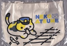 Neko Atsume Mini Tote bag Ekichou-san Cat Japan