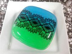 """Black Lace"" handmade soap by Kokolele on Etsy"