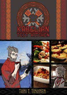 W.I.P. karelian test kitchen - cookbook (krl / fin / eng) Test Kitchen, Harry Potter, Flag, Comic Books, Science, Cartoons, Comics, Comic Book, Flags
