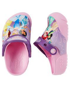 b5732c2b15d1 SHOES GIRLS BOYS · Baby Girl Crocs Fun Lab Lights Princess Clogs