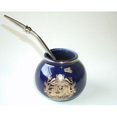 Pin Yerba Mate Ceramic Gourd Amp Bombilla Set on Pinterest