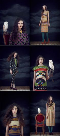 charlotte taylor a/w 2012 look book over at honey kennedy: