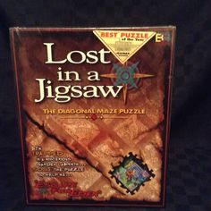 NIB Buffalo Games Lost In A Jigsaw Puzzle 500 Pieces Escape From Eden Challenge #BuffaloGames