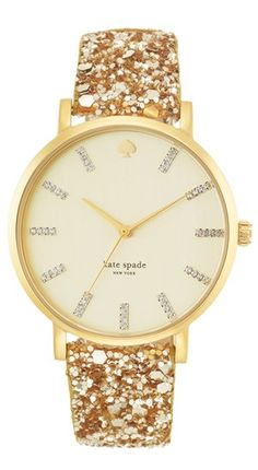 What time is it? Time for me to get a Kate Spade watch ;)