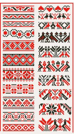 Cross Stitch Ethnic  http://pinterest.com/countedthreads/cross-stitch-ethnic/