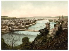 Inverness-shire, Inverness from the Castle 1900's