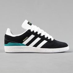 Adidas skateboarding busenitz pro #trainers black #white #green,  View more on the LINK: 	http://www.zeppy.io/product/gb/2/281986528330/