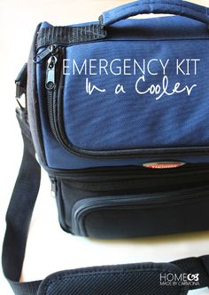 Home Emergency Kit, Emergency Go Bag, Emergency Preparedness Kit, Family Emergency, Emergency Food, Great Minds Think Alike, Bag Storage, Food Storage