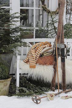 VIBEKE DESIGN: Natural winter decoration!