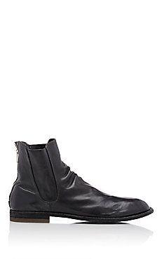 Back-Zip Chelsea Boots