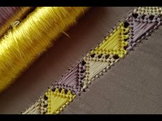 Caftans, Hand Embroidery Designs, Couture, Crochet, Bags, Fashion, Needlepoint, Caftan Marocain, Chicken Scratch Embroidery