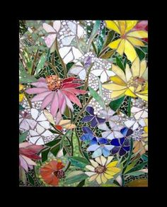Stained Glass Flowers. ACFilters4Less.com
