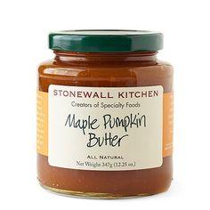 Maple Pumpkin Butter - Ingredients: Pumpkin Puree, Pure Cane Sugar, Brown Sugar, Maple Syrup, Water, Modified Cornstarch, Citric Acid, Spices