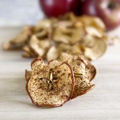 Chips de manzana y canela   Notas   La Bioguía