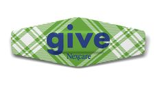 Nexcare™ Give 2011 Limited Edition Plaid bandage