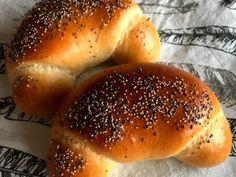 Pšeničný kvas Croissants, Food And Drink, Bread, Sweet, Blog, Recipes, Basket, Breads, Bread Baking