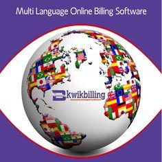 KwikBilling - Multilingual Online #Billing #Software - Coming Soon