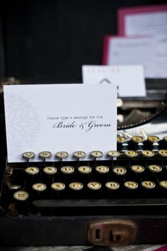 Please type a message for the bride and groom