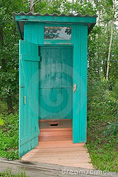 Like the color for the outside bathroom