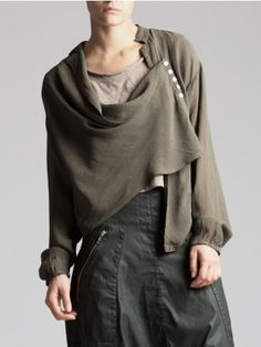 CREPE VISCOSE BLOUSE - JACKETS, JUMPSUITS, DRESSES, TROUSERS, SKIRTS, JERSEY, KNITWEAR, ACCESORIES - Woman -
