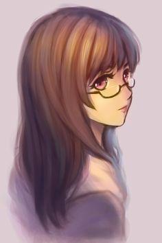 megane-chan by chaosringen.deviantart.com on @deviantART