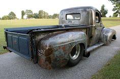 rat rod truck | 1947 Ford Pro Street Rat Rod Pickup Truck