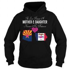 Cool Love Knows No Distance - Arizona Iowa Shirts & Tees