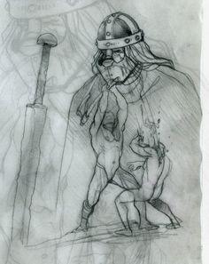 Sketch! Technique: Crayon. #stefanotamiazzo #tamiazzo #crayon #bd #bandedessinee #comicart #fumetto www.facebook.com/...