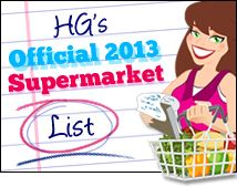 The NEW Hungry Girl Supermarket List is HERE!!!! AHHHHHH!!!! PIN! SHARE! ENJOY!