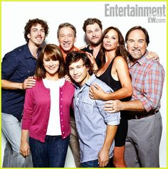 """For those of you who don't know what show this is : """"Home Improvement"""" cast. My favorite tv show back in the 1990's! Heck, I still watch the re-reuns every now and again. I miss Randy, LOL !"""