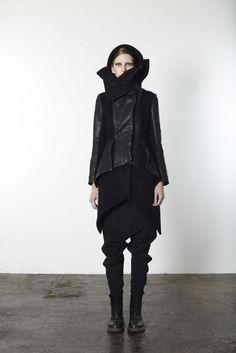 I like a lot of black clothing.