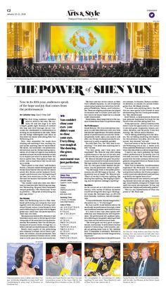 The Power of Shen Yun Epoch Times #ShenYun #Music #Arts #newspaper #editorialdesign