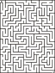blank maze templates - Isken kaptanband co