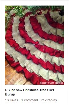 tutorial: diy tree skirt. — Holly MarshMueller