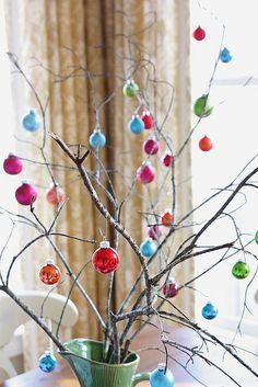 Àrvore de Natal de galhos secos - christmas branch