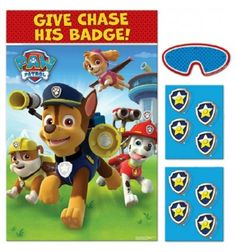 Paw Patrol Party Game Party Themes and Decorations | Party Corner #PawPetrol #PartyCorner