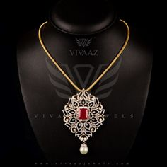 Home - Vivaaz Jewels Pvt. an exclusive diamond jewellery manufacturer in Mumbai Diamond Initial Necklace, Diamond Pendant, Gold Necklace, Gold Pendant, Pendant Jewelry, Gold Earrings Designs, Necklace Designs, Gold Jewelry Simple, Diamond Jewellery